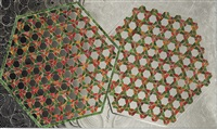 the two hexagons by monir shahroudy farmanfarmaian