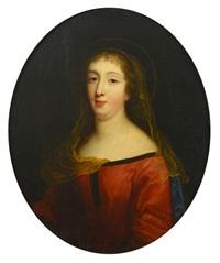 portrait présumé de diane de joannis de chateaublanc marquise de ganges by pierre mignard the elder