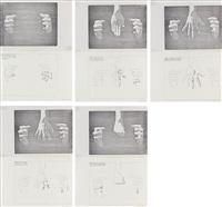 appendice per una supplica (5 panels) by ketty la rocca