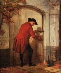 le passage secret by charles augustin wauters