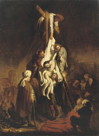 The Descent from the Cross by Rembrandt van Rijn on artnet