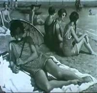 a la plage by william-victor aubert