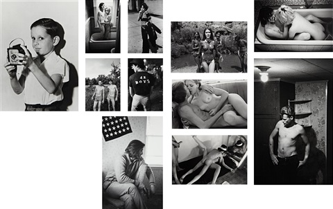 teenage lust (83 works) by larry clark