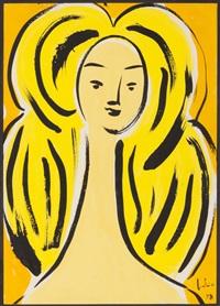 feminine bust by júlio reis pereira