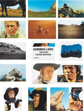 summer love the first polish western 16 works by piotr uklanski