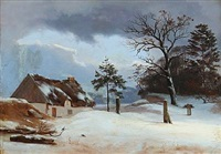 vinterparti by heinrich buntzen