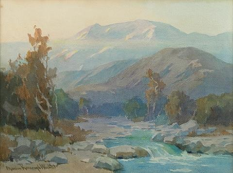 misty stream by marion kavanaugh wachtel