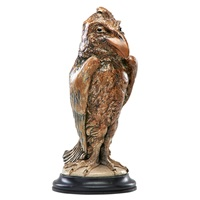 exceptional and large bird tobacco jar by robert wallace martin