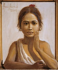 gadis di jendela (girl at the window) by abdul aziz