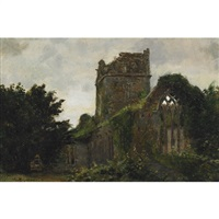 ruin of a church by william brymner
