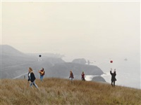 one red, one blue - jenner, california by justine kurland