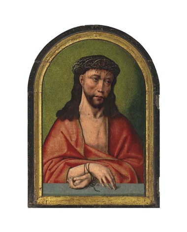 christ as the man of sorrows by flemish school bruges 16