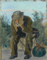 vieillard et don balluchon by alexis merodack-jeaneau