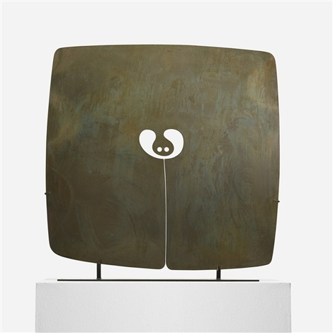 untitled gong by harry bertoia