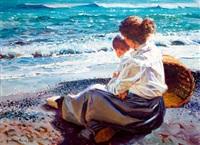 maternidad en la playa by juan gonzález alacreu