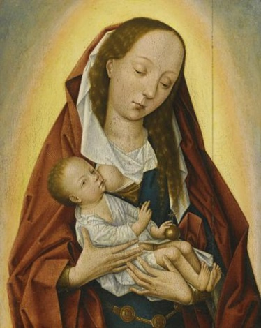 the virgin and child by roger van der weyden