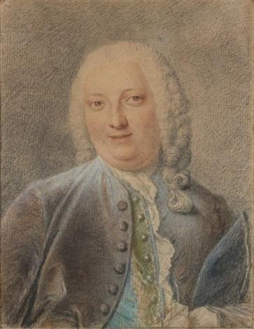 portrait de jacques louis françois roussel marquis de courcy by jacques andré portail