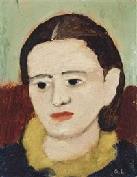 portrait de femme by andré lanskoy