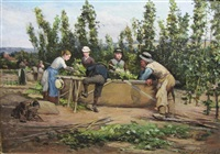 hop-picking(+ another; pair) by john m. rogier
