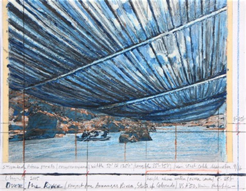 over the river project for arkansas river state of colorado by christo and jeanne claude