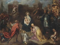 the adoration of the magi by guillaume forchondt the elder