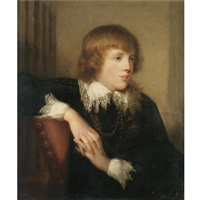 portrait of a gentleman by rev. matthew william peters