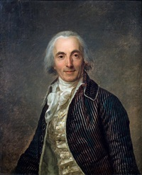 portrait de guillou, gouverneur de la martinique by antoine vestier