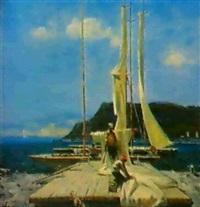 les voiliers by nikolai liadovskii