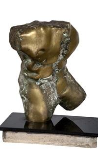 male torso by mario agostinelli