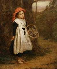 a little violet seller by augustus edwin mulready