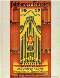 salzburger festspiele 1927 by g. jung