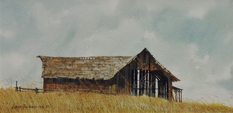 prairie barn by david allen halbach