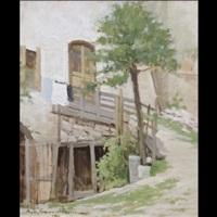 vecchie case di fai della paganella by ernesto alcide campestrini