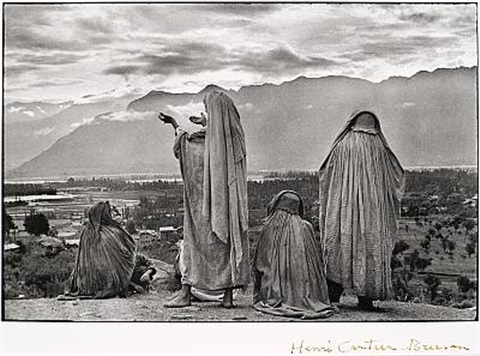srinagar kashmir by henri cartier bresson
