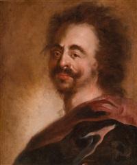 pasticcio-porträt zar peters d. gr. von rußland by anthoni schoonjans