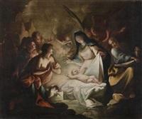 adorazione dei pastori by francesco conti