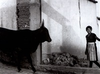 el almuerzo, hacienda tepetates, hildalgo (+ la doncella y el toro; 2 works) by mariana yampolsky