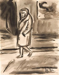 walking figure by joy hester