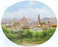 blick auf florenz by guido agostini