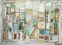 landscape in ein hod by pinchas abramovich