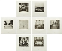 nisshin maru portfolio (set of 8) by matthew barney