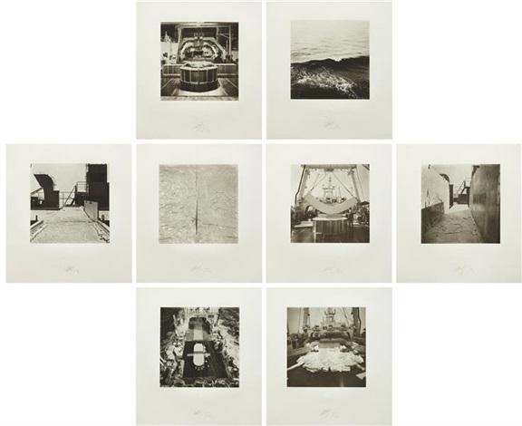 nisshin maru portfolio (set of 8) by matthew barney