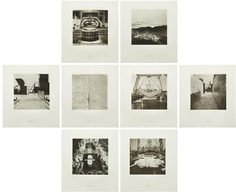nisshin maru portfolio set of 8 by matthew barney