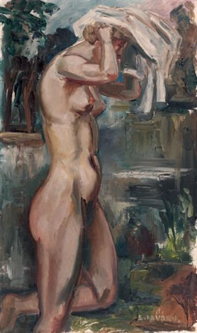 baigneuse by andré favory