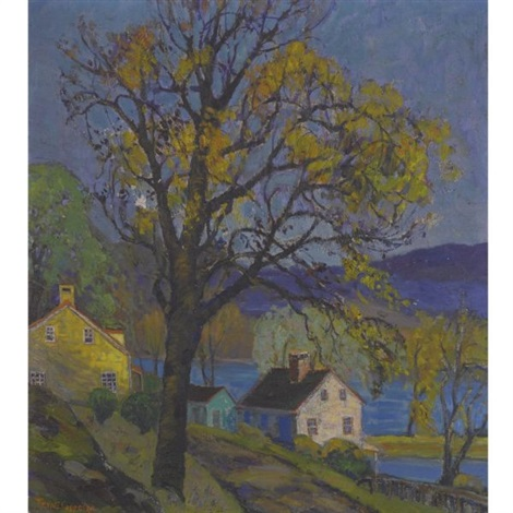 houses along the delaware by fern isabel coppedge