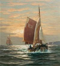 fishing boats by martin franz glüsing (francis-glüsing)