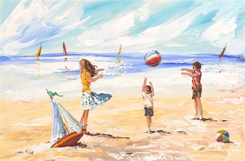 beach games by lorna millar
