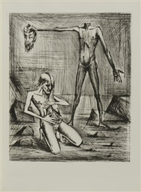l'enfer de dante (album w/11 works) by bernard buffet