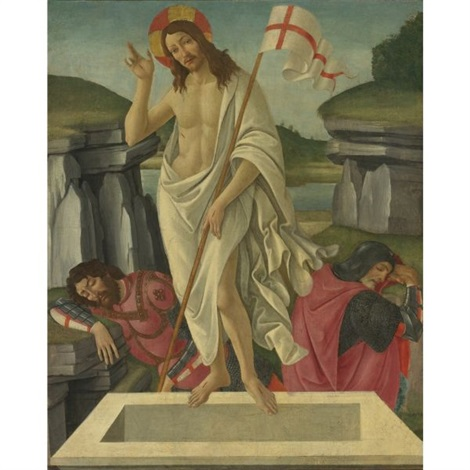 the resurrection collab wstudio by sandro botticelli