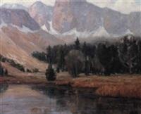 sierra lake by j. stephen ward
